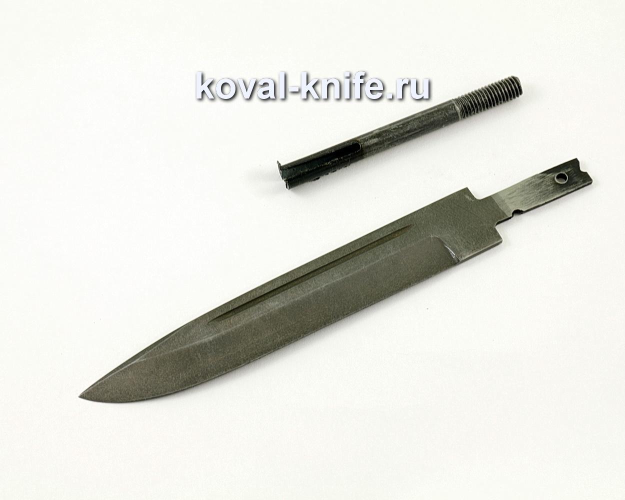 Клинок для ножа из булатной стали Вишня