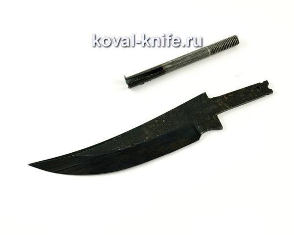 клинок для ножа из кованой стали У10 Ворон