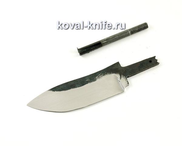 клинок для ножа Кабан из кованой стали 110х18 МШД