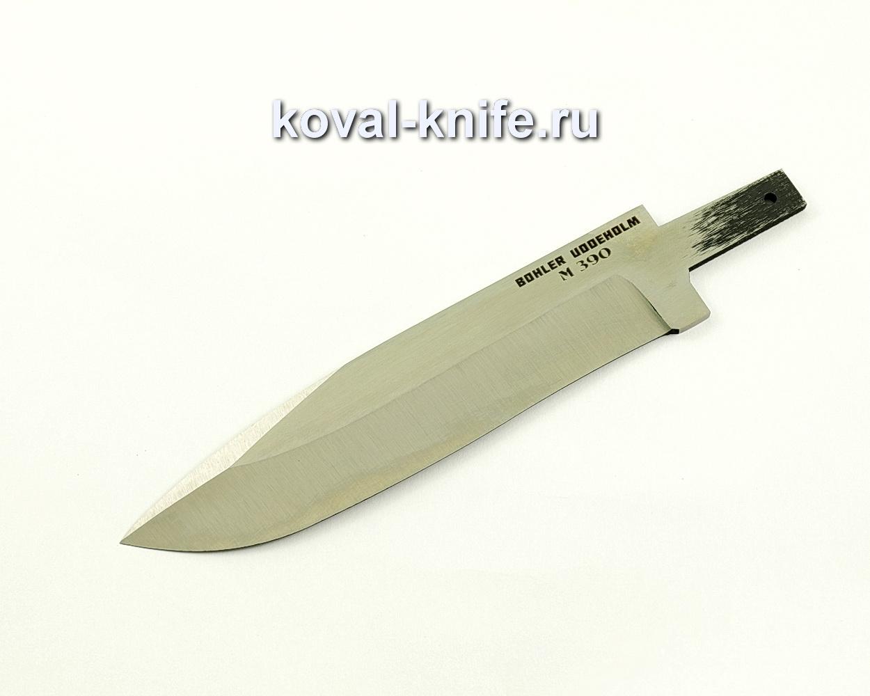 Клинок для ножа из порошковой стали M390 Олимп