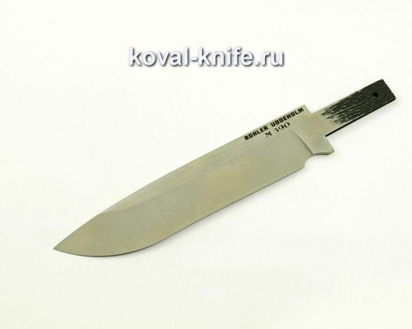 Клинок для ножа из порошковой стали M390 Орлан