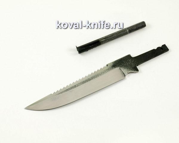клинок для ножа Рыбак из кованой стали 110х18