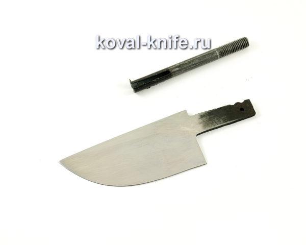 клинок для ножа Скин из кованой стали 95х18