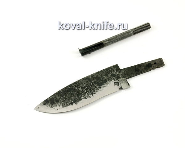 Клинок для ножа из кованой стали 9ХС Сапсан