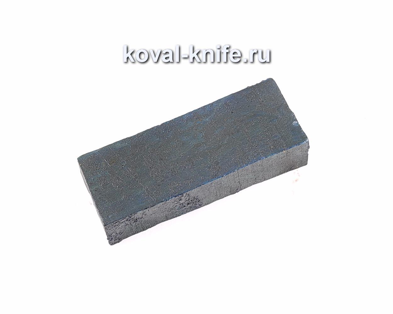 Карельская береза стабилизированная для рукоятки ножа (синяя)