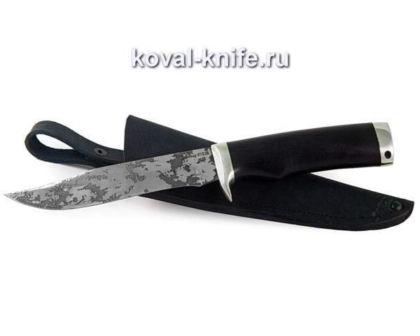 Нож Викинг из кованой стали 95х18 с травлением на клинке