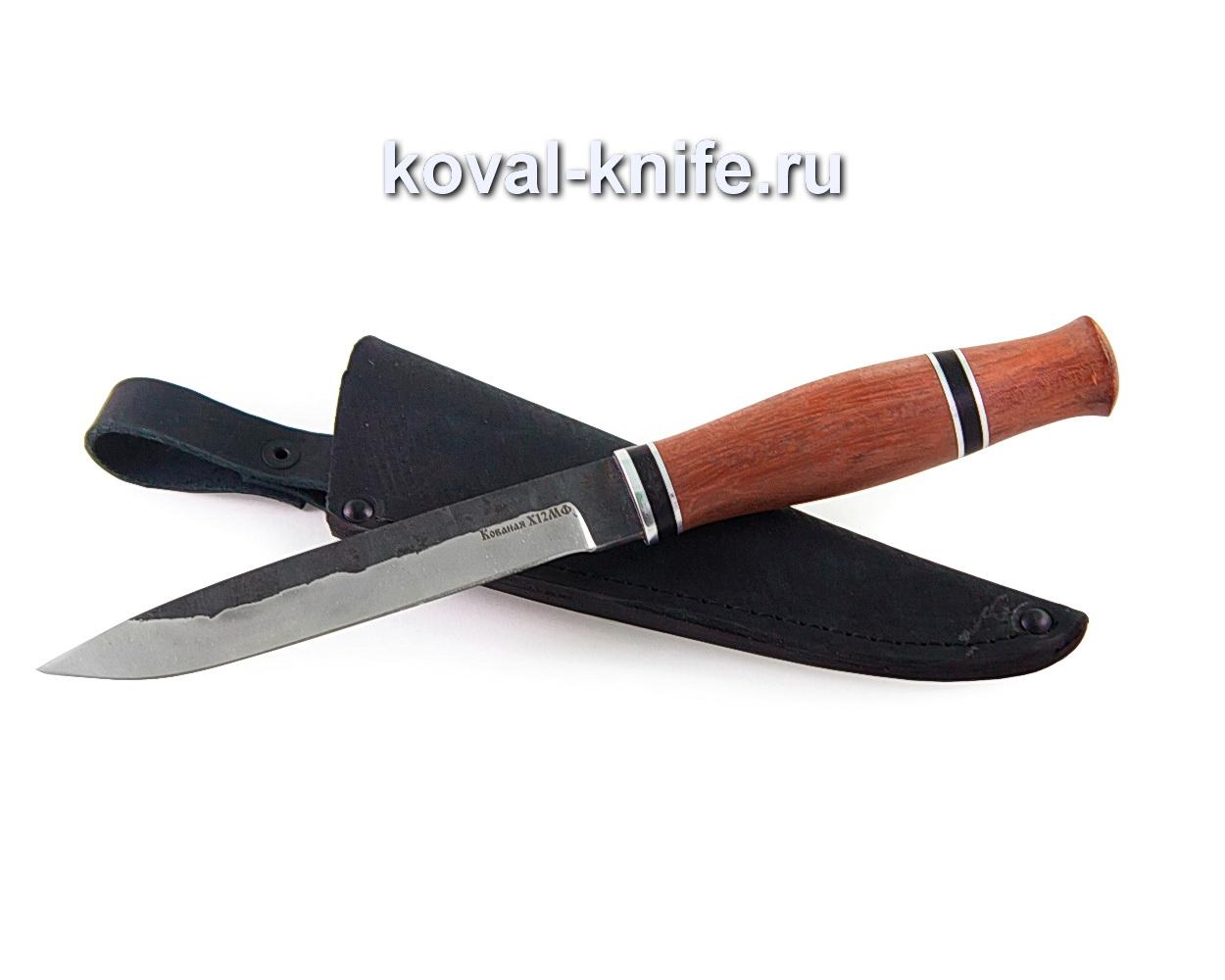 Нож Вишня из стали х12мф, (рукоять бубинга) A355
