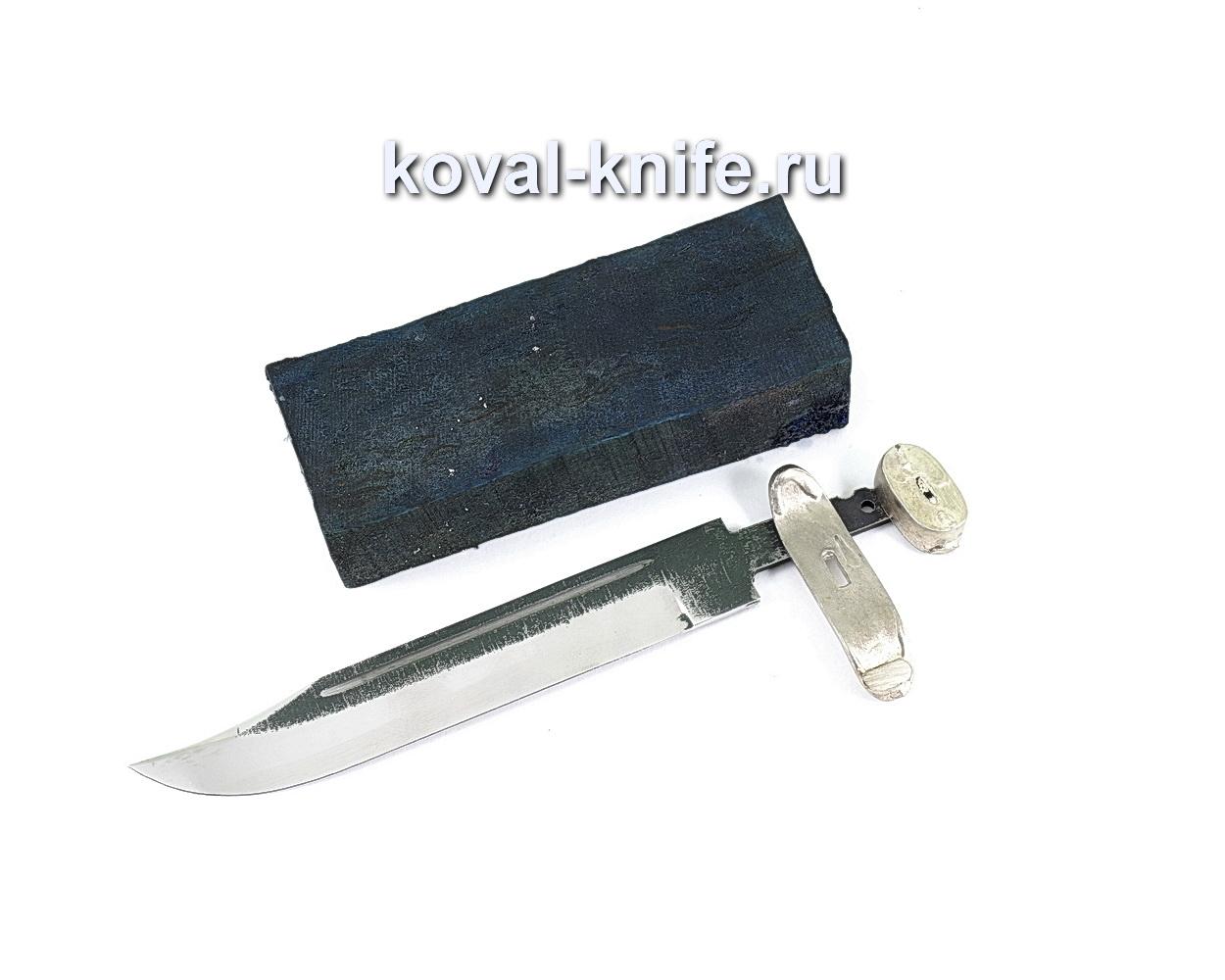 Комплект для ножа НР-40 6 (клинок кованая 110х18 3,5мм, литье 2шт., граб брусок)