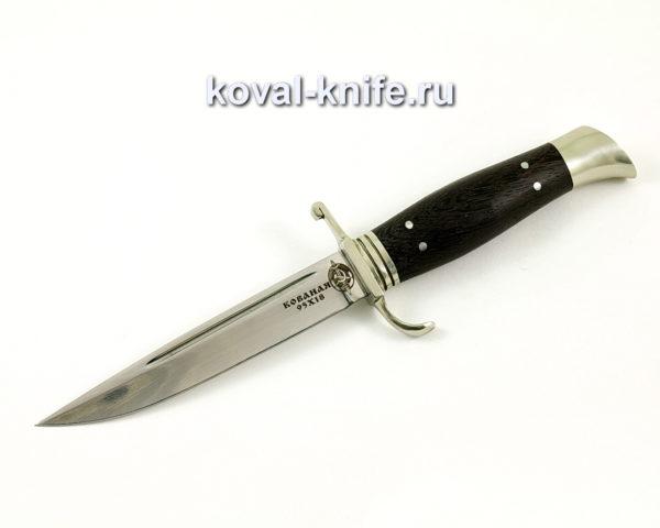 Нож Финка НКВД из кованой стали 95х18 с рукоятью из венге