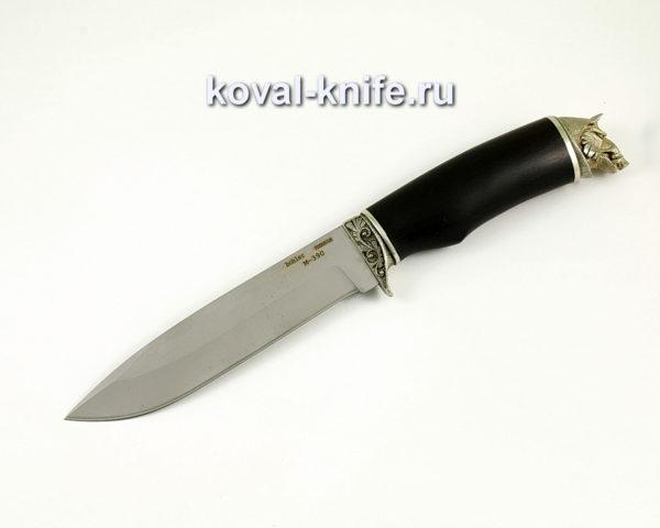 Нож Олимп из порошковой стали M390 с рукоятью из граба