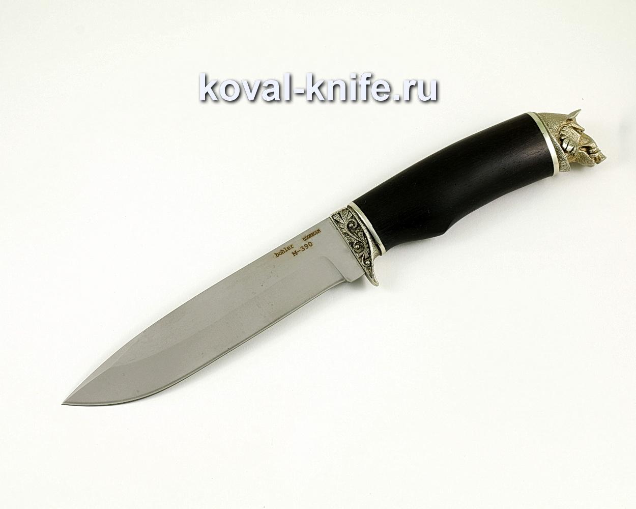 Нож Олимп из порошковой стали M390 (рукоять граб, литье) A393