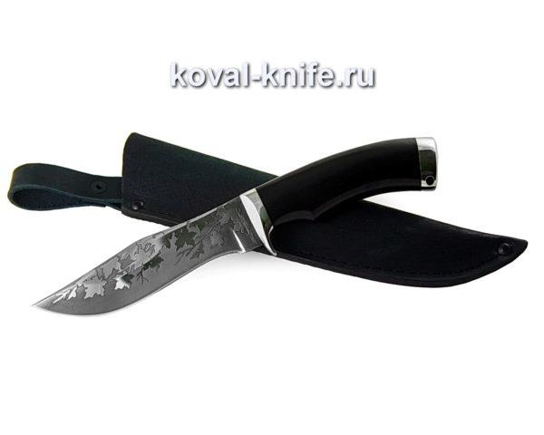 Нож из стали 95х18 Охотничий с травлением на клинке