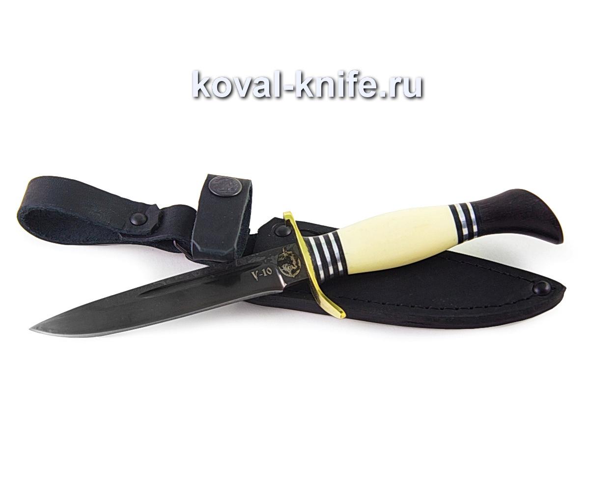 Нож Финка Нквд из углеродистой стали У10 (пластик, гарда латунь) A364