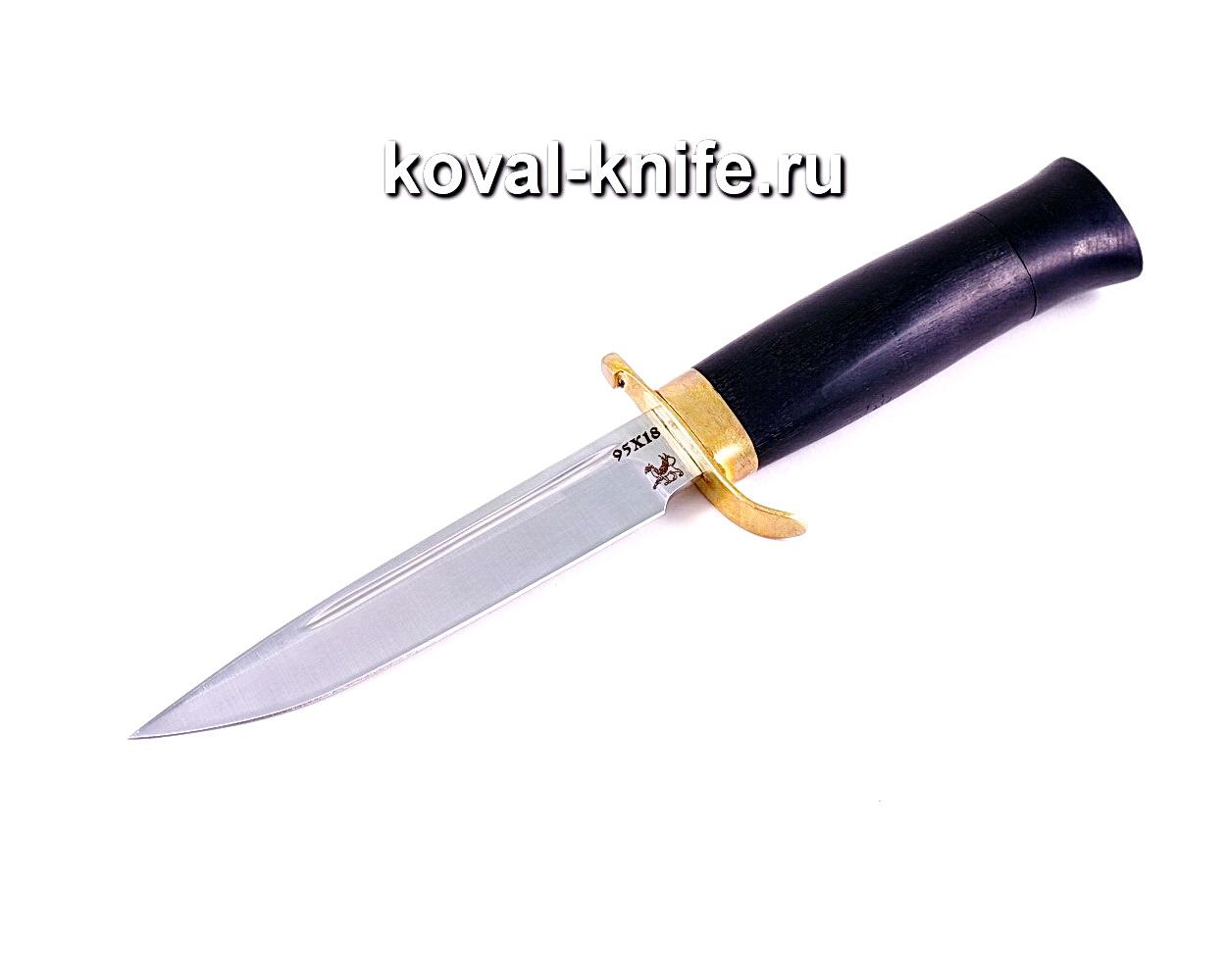 Нож Финка (сталь 95х18), рукоять граб, литье A118
