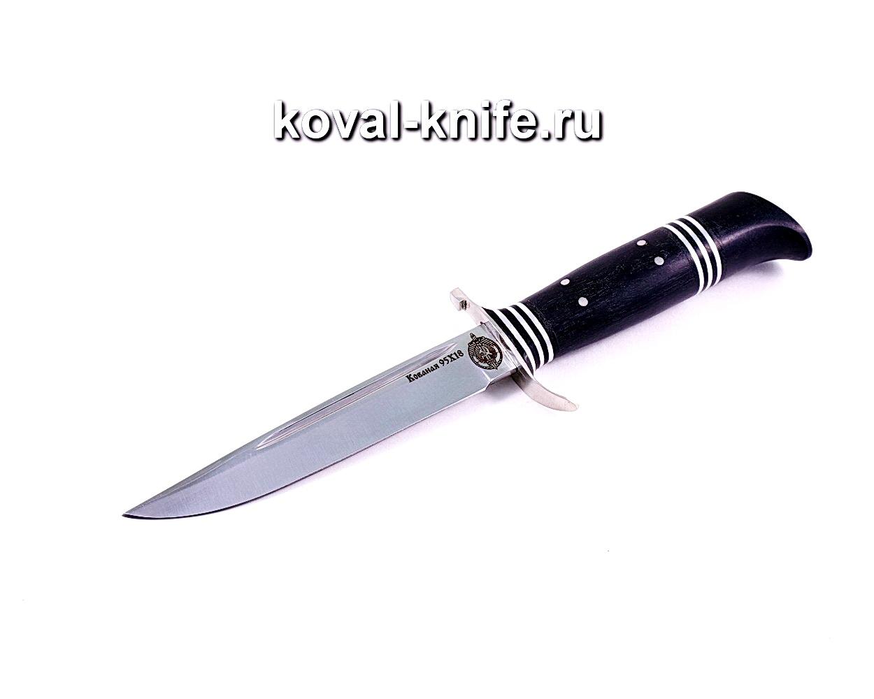 Нож Финка (сталь 95х18), рукоять граб, литье A115