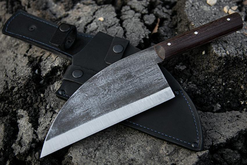 Сербский шеф нож из кованой стали 95Х18 (рукоять – венге) A721