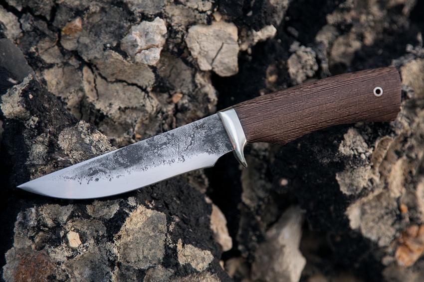 Нож Лис из стали 9ХС (рукоять венге) A708