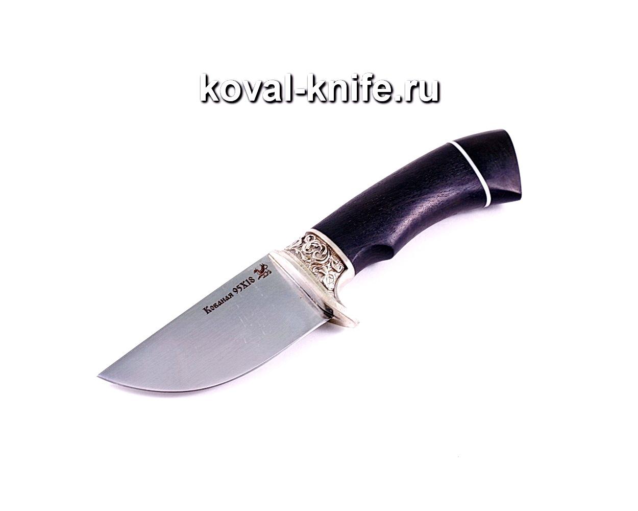 Нож Скин (сталь 95х18), рукоять граб, литье A028