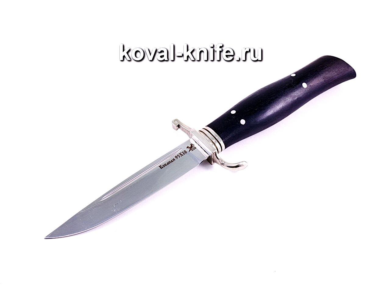 Нож Финка (сталь 95х18), рукоять граб, литье A020
