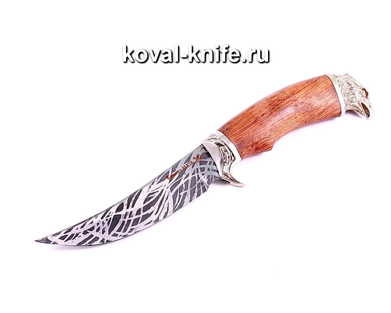 Нож Ворон (сталь 95х18), рукоять бубинга, литье A007