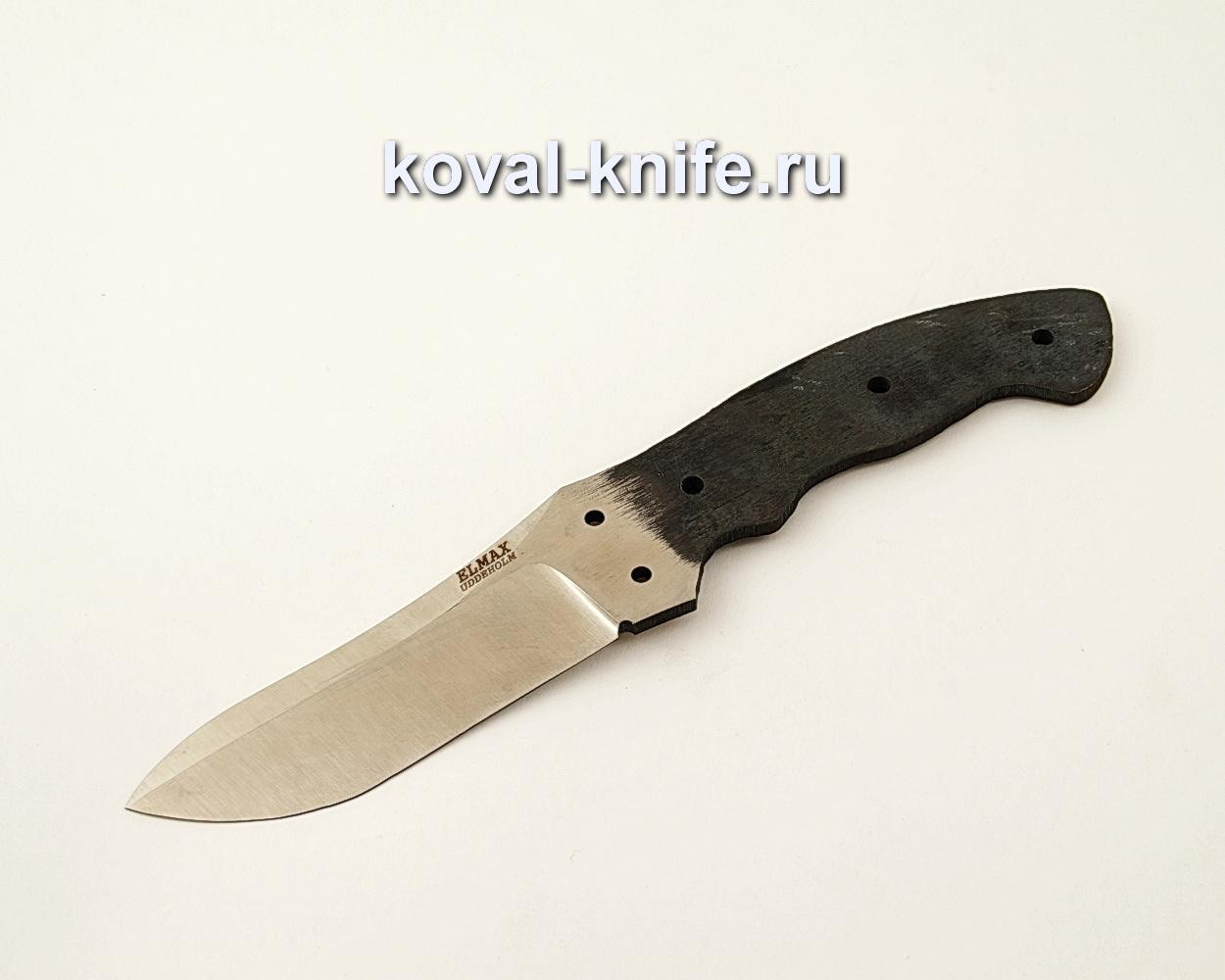 Цельнометаллический клинок для ножа из порошковой стали ELMAX ЦМ1