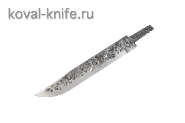 Клинок для ножа из стали 9хс ручной ковки Штрафбат