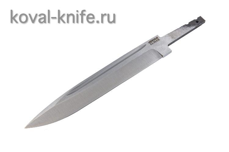 Клинок для ножа из порошковой стали Elmax Вишня