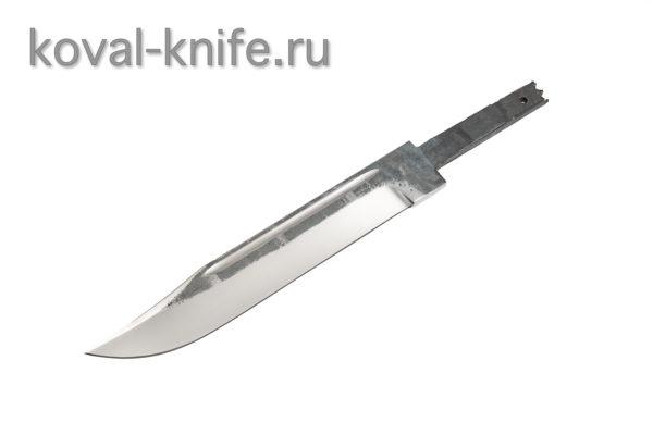 Клинок для ножа из стали 110х18 Штрафбат