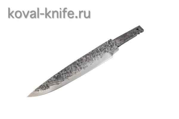 Клинок для ножа из стали 9хс ручной ковки Финка