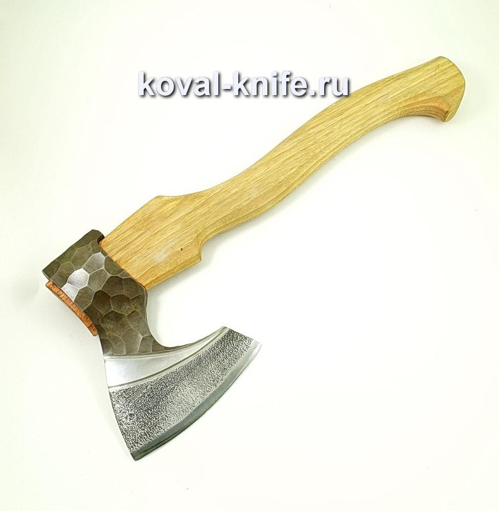 Топор ручной ковки из стали 9хс (рукоять дуб) A431