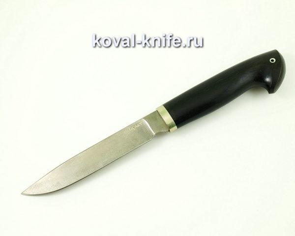 Нож Турист из стали Булат с рукоятью из граба