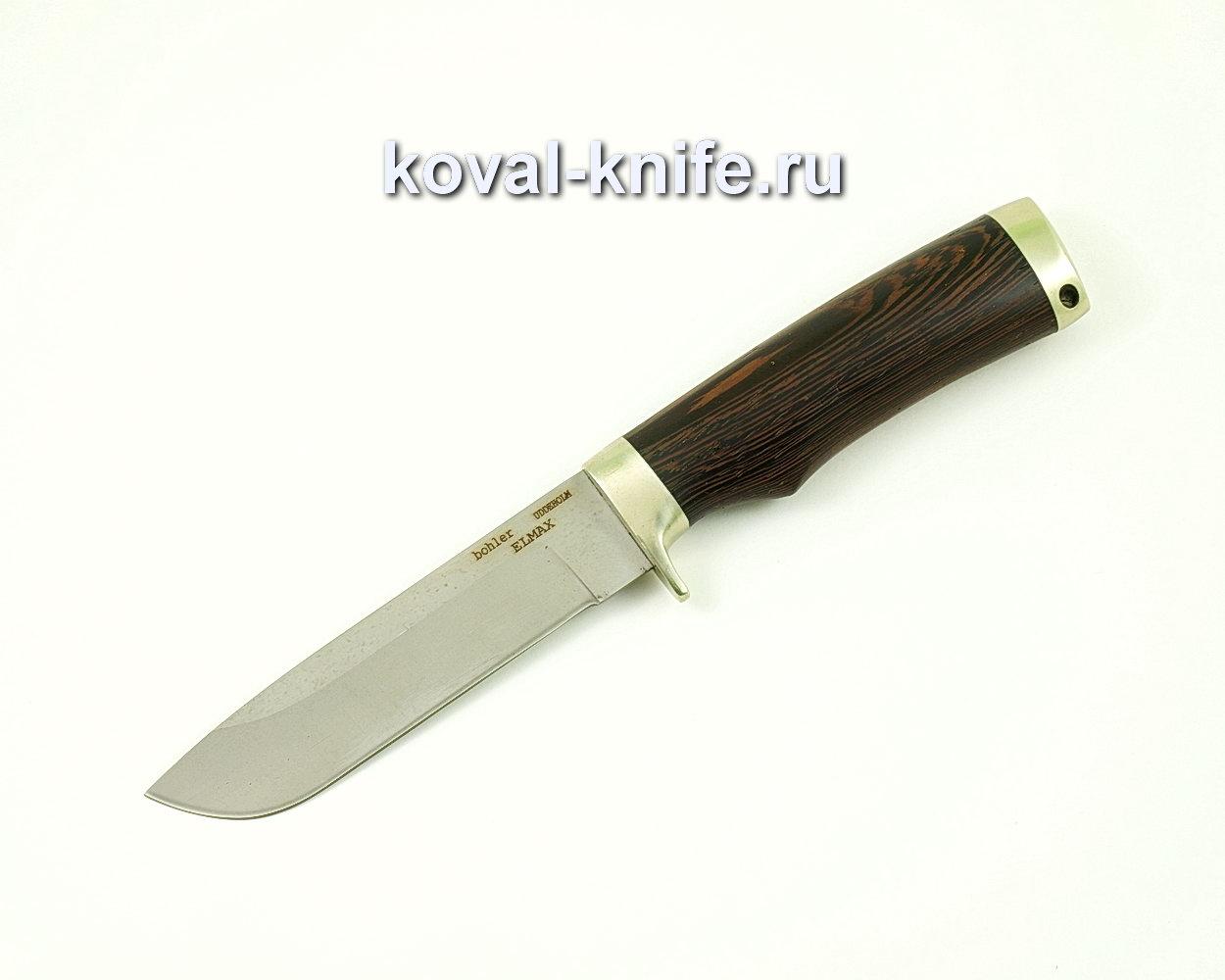 Нож Белка из порошковой стали Elmax (рукоять венге) A396