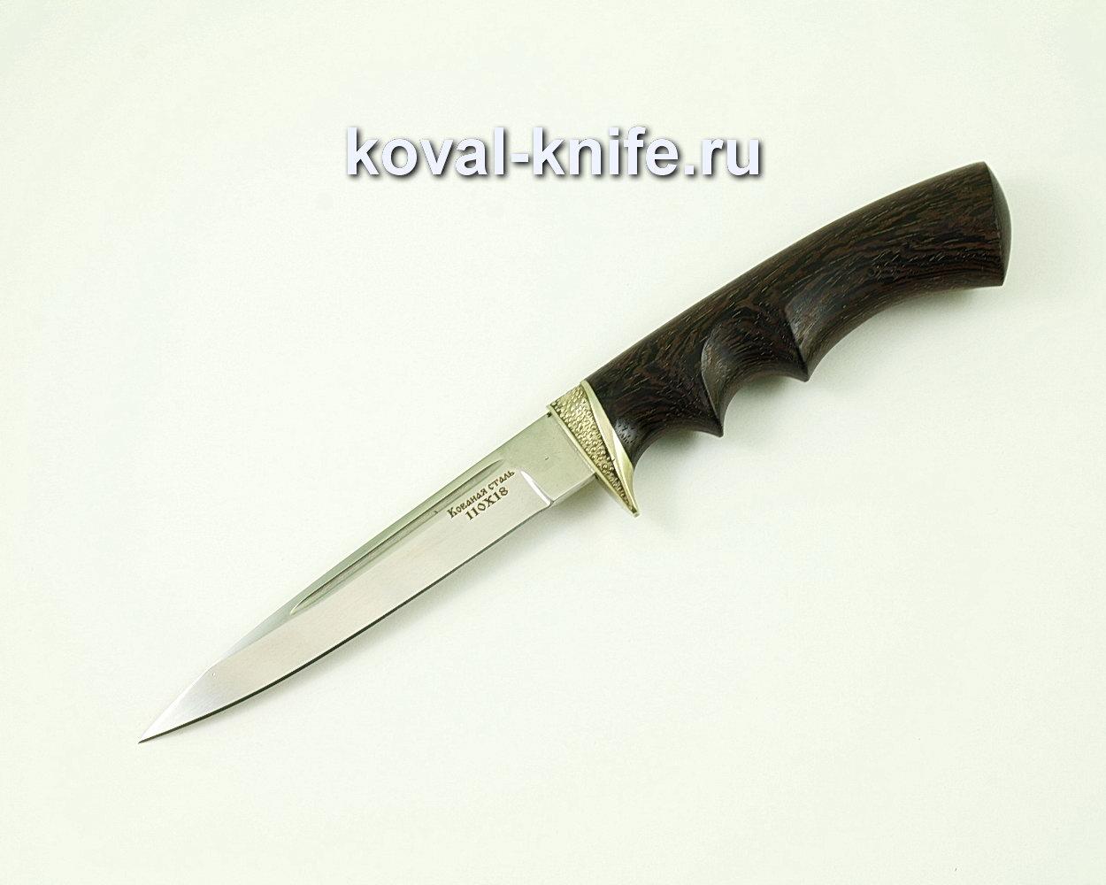 Нож Коготь из стали 110х18 (рукоять граб, литье) A413