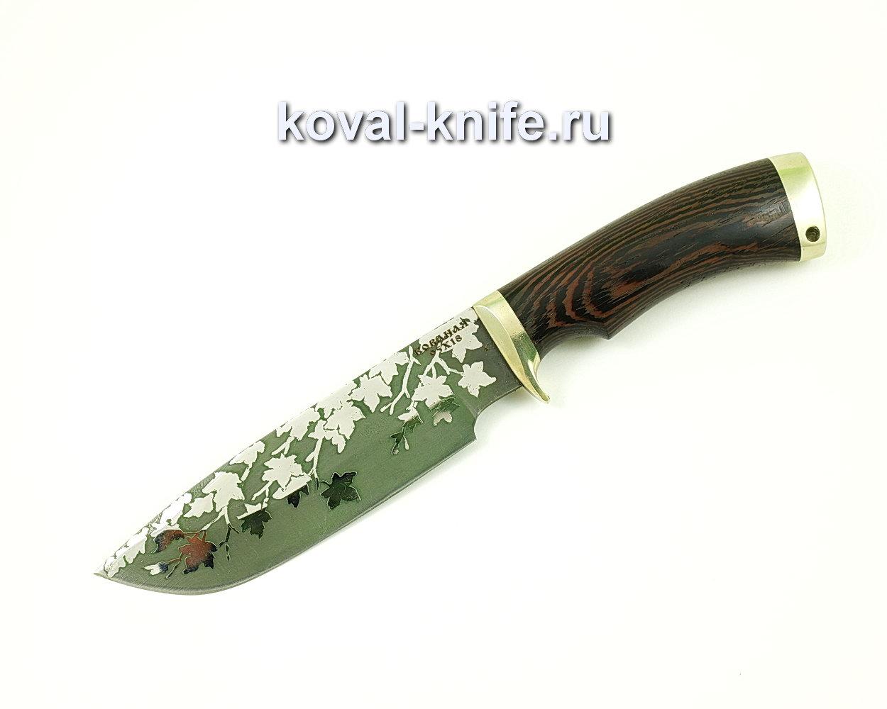 Нож Барс из стали 95х18 (рукоять венге, литье) A408