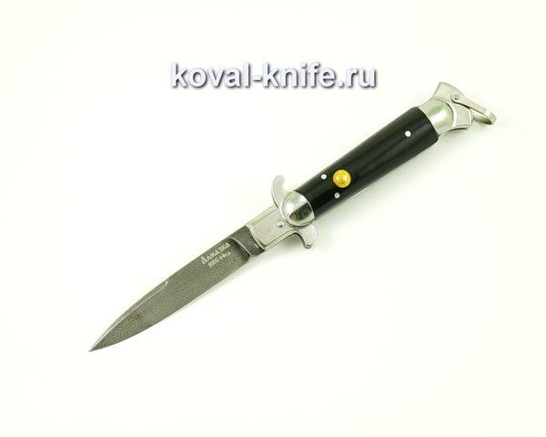 Нож Флинт (сталь ХВ5-Алмазка), рукоять эбонит A514