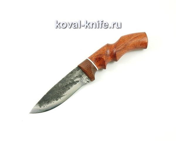 Нож Сапсан из стали 9хс с рукоятью из бубинги