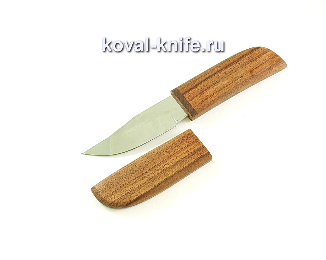 Нож Норвег (сталь 95х18), рукоять и ножны бубинга A259