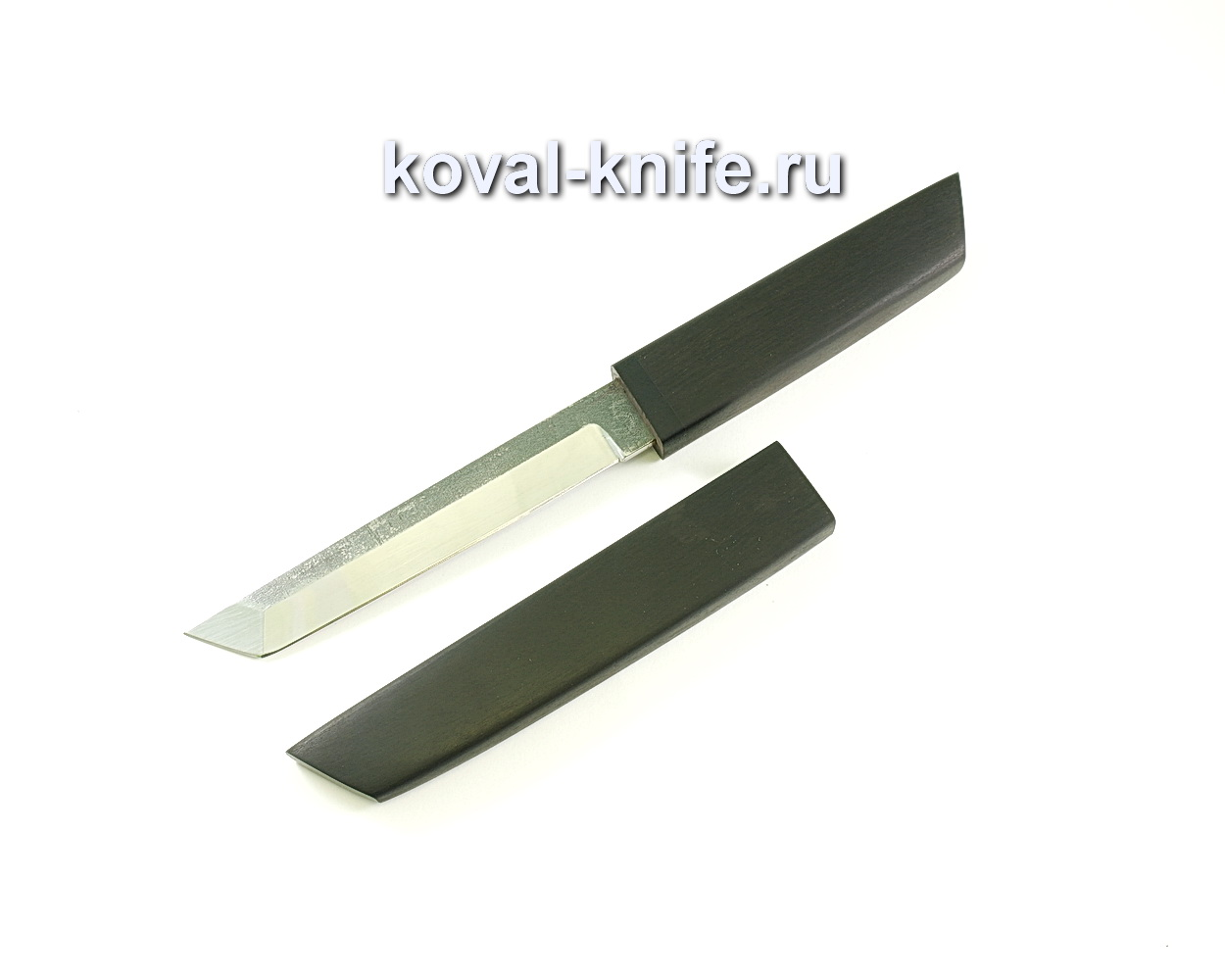 Нож Кобун (сталь 110х18), рукоять и ножны дерево граб A247
