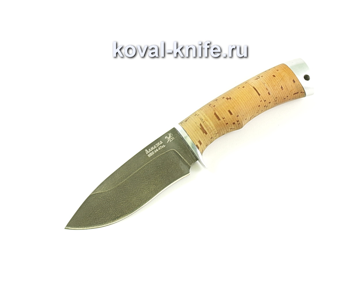 Нож Сапсан-2 (сталь ХВ5-Алмазка), рукоять береста A044