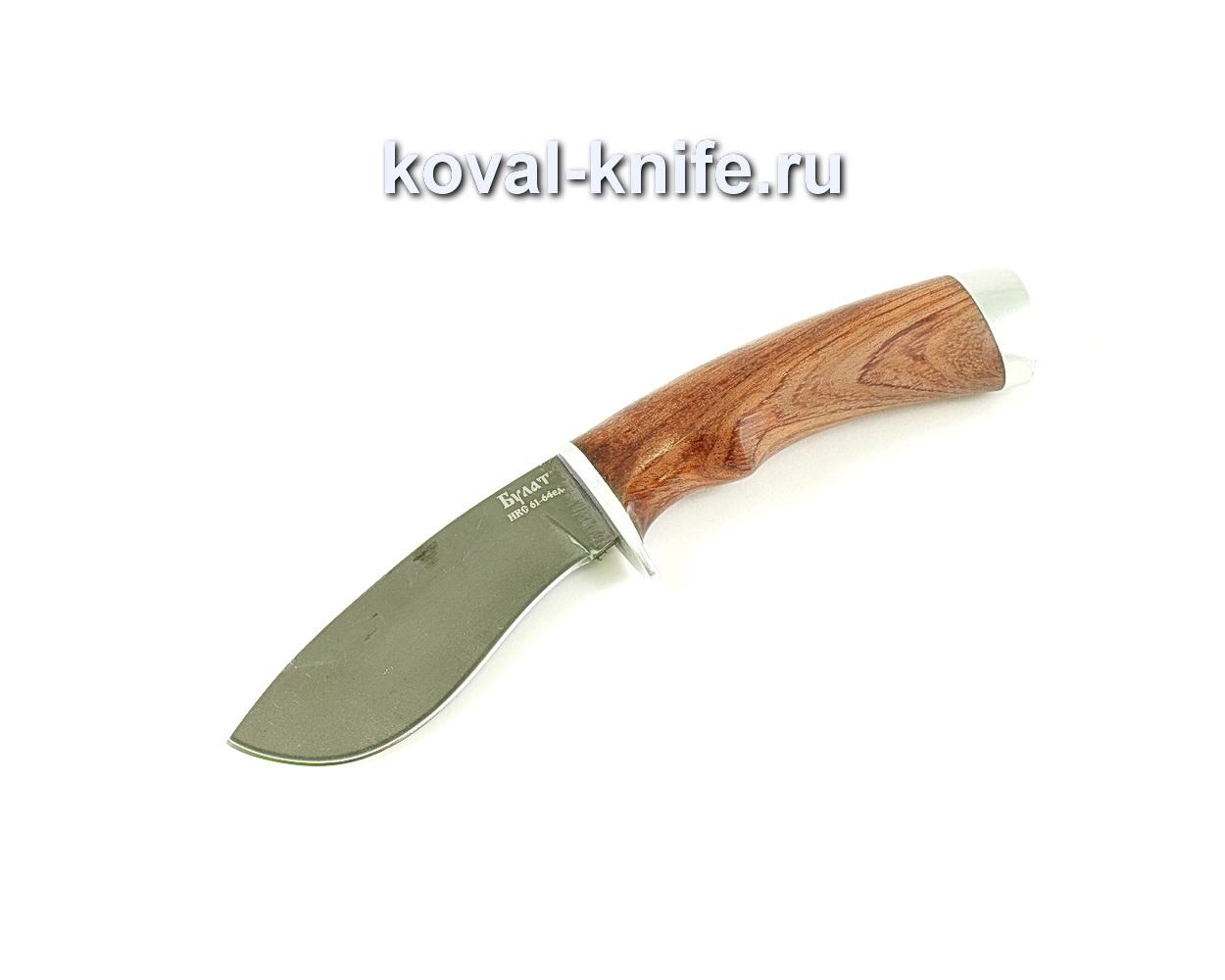 Нож Носорог (сталь Булат), рукоять бубинга A049