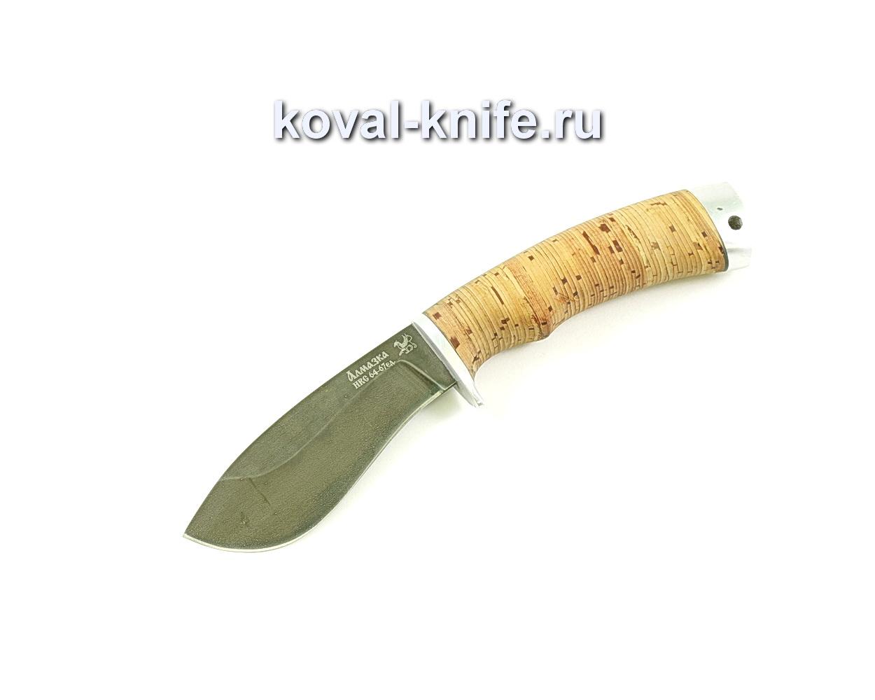Нож Носорог (сталь ХВ5-Алмазка), рукоять береста A045