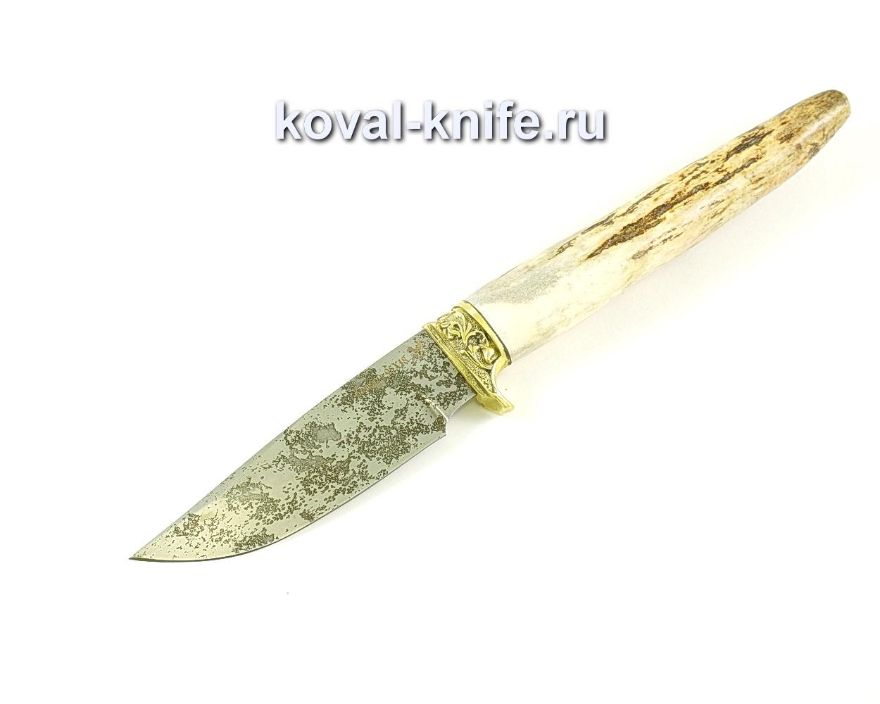 Нож Норвег (сталь 95х18), рукоять рог, литье A264
