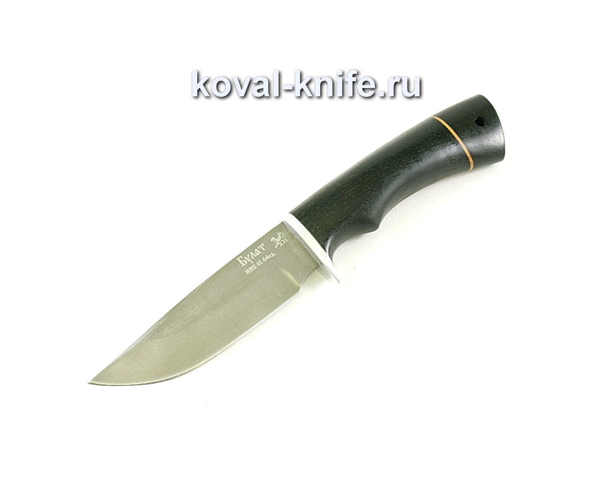 Нож Норвег (сталь Булат), рукоять граб A051