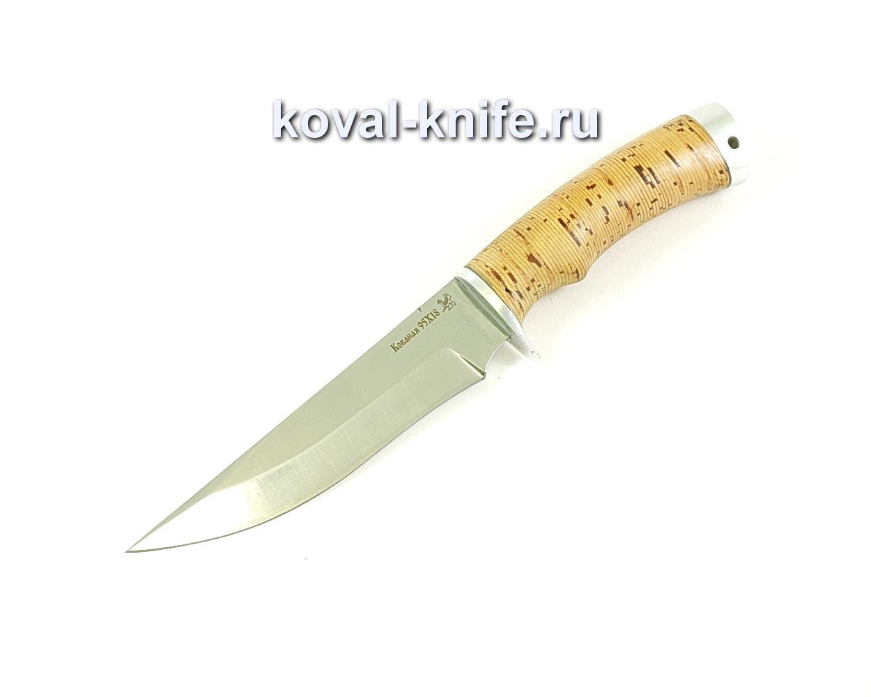 Нож Лис (сталь 95х18), рукоять береста A266