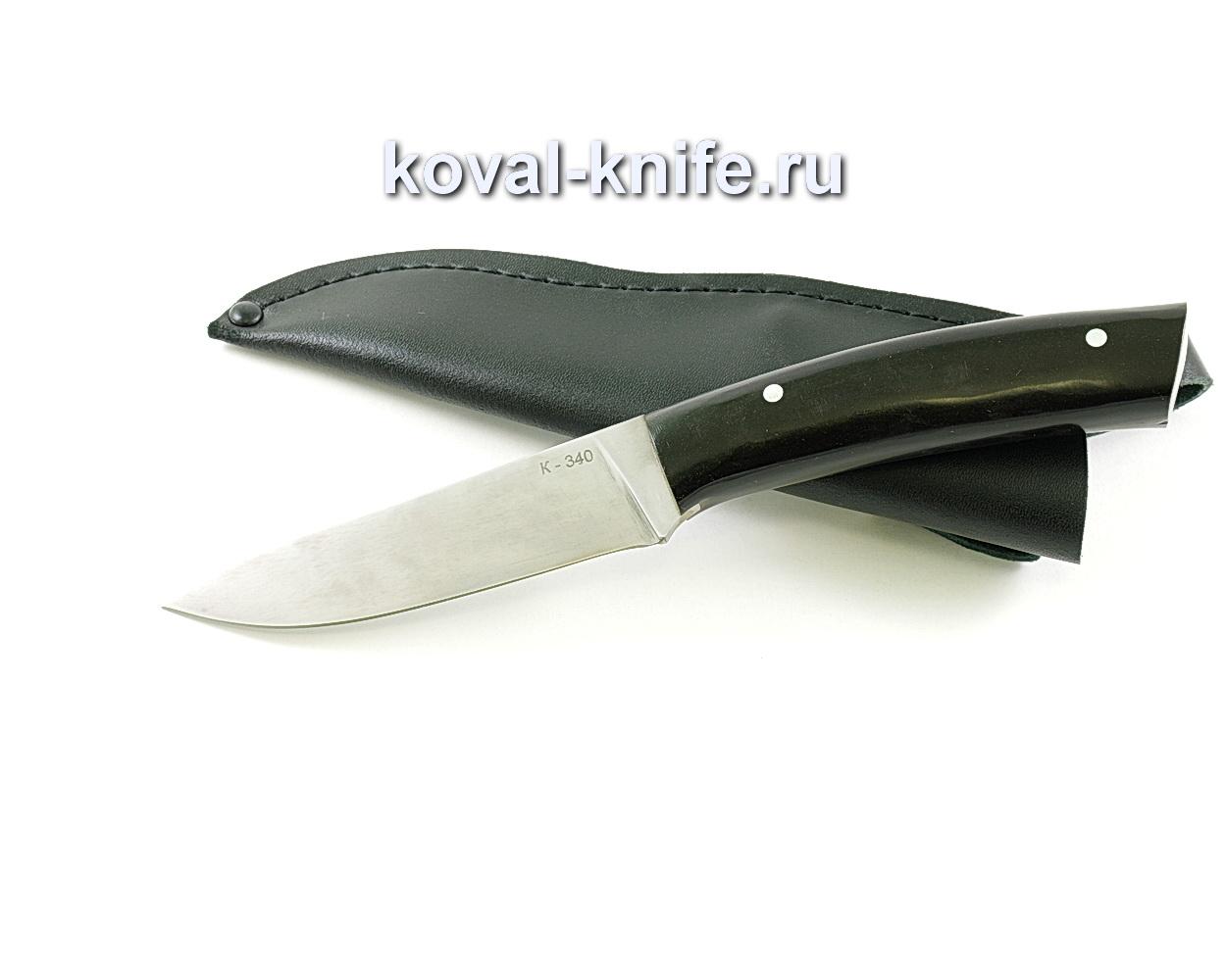 Нож Лань (сталь K-340), рукоять Эбонит A111