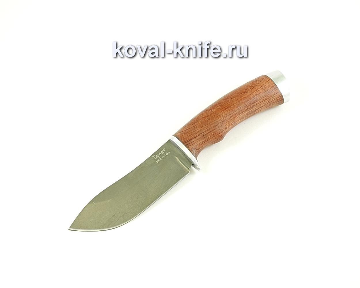 Нож Кабан (сталь Булат), рукоять бубинга A055