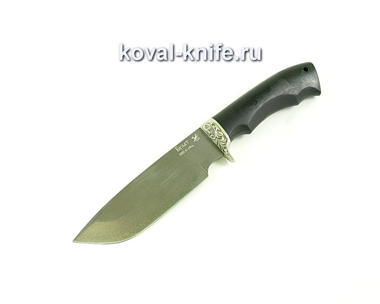 Нож Барс (сталь булат), рукоять граб, литье A088