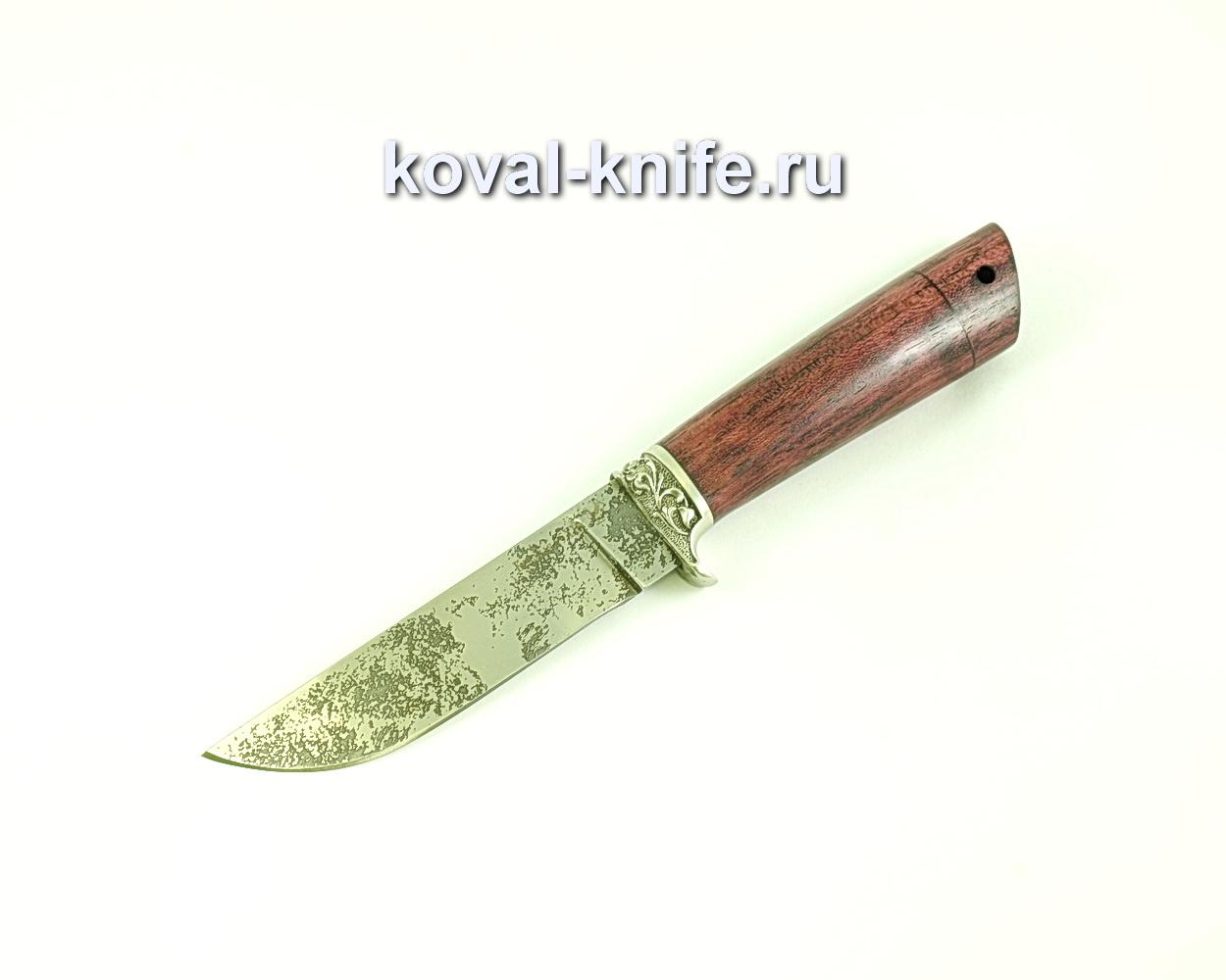 Нож Белка (сталь 95х18), рукоять амарант, литье A272