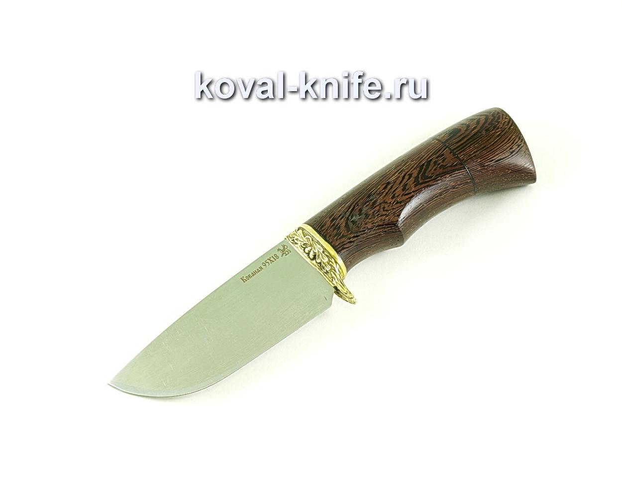 Нож Бобр (сталь 95х18), рукоять венге, литье A275