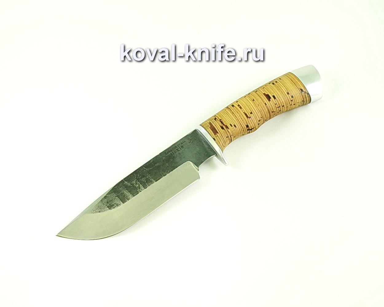 Нож Барс (сталь 110х18), рукоять береста A101